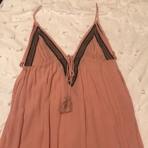 Topshop bathing suit cover up. size Small